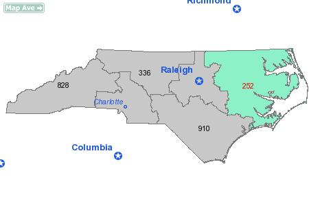 Area Code 252 Information